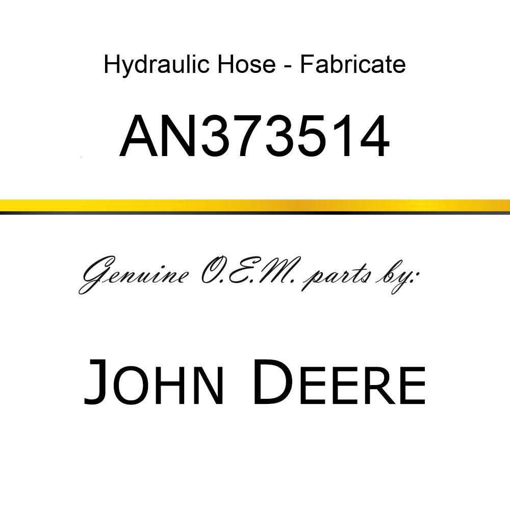 Hydraulic Hose - HOSE ASSY AN373514
