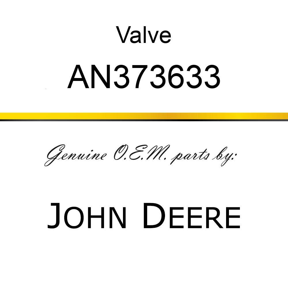 Valve - VALVE,-10 PRR,E-PROP. W/SCREEN AN373633