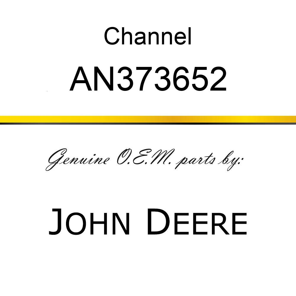 Channel - CHANNEL, CHANNEL ASSY, SUPPORT EXT. AN373652