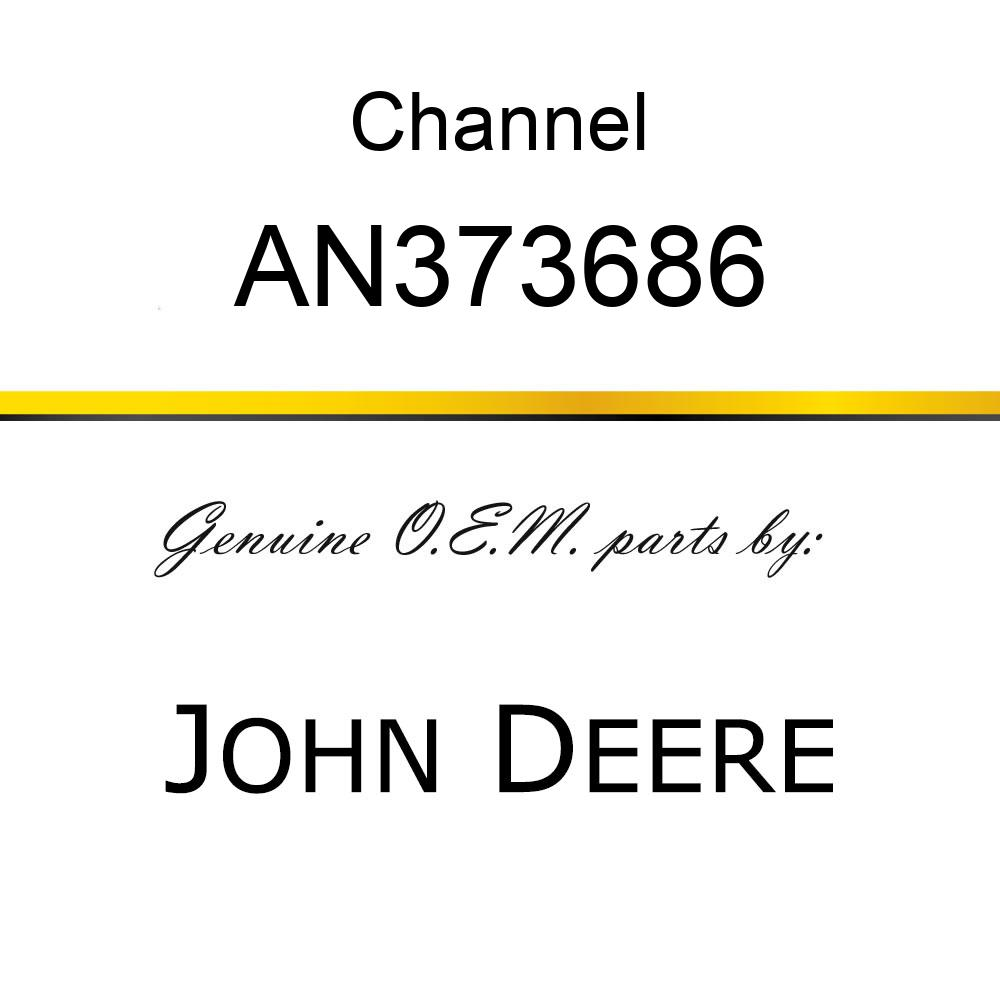 Channel - STEP W/DECAL AN373686