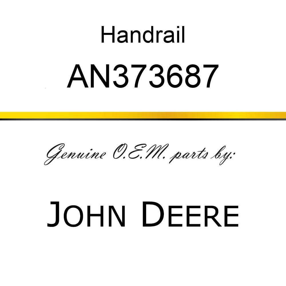 Handrail - HANDRAIL TUBE ASSY. AN373687