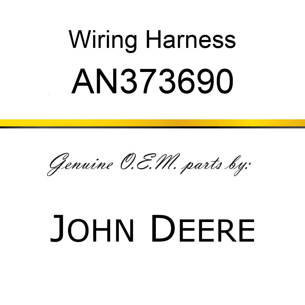 Wiring Harness - HARNESS ASSY, HANDLER W/TAILIGHTS AN373690