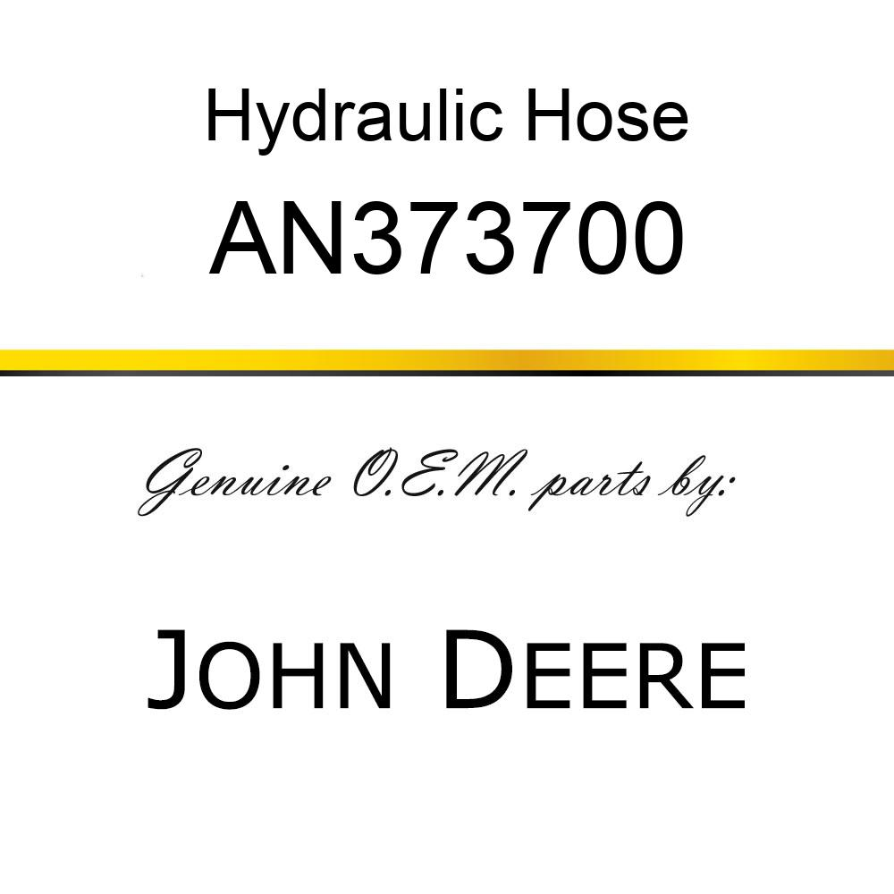 Hydraulic Hose - HOSE, TANK SUPPLY AN373700