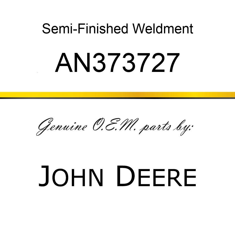 Semi-Finished Weldment - ASSY - BASKET CORNER REAR AN373727