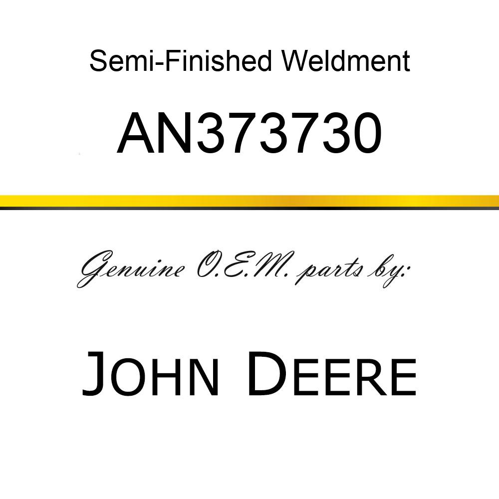 Semi-Finished Weldment - ASSY - BASKET STRAP RH HORZ AN373730