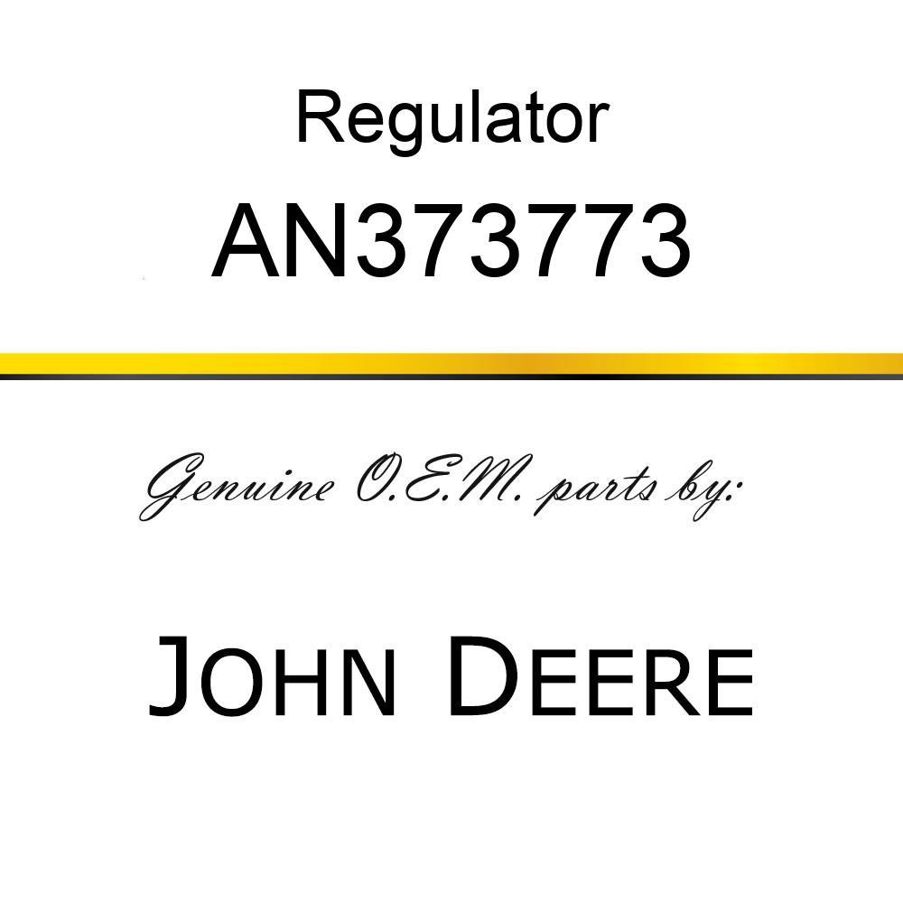 Regulator - REGULATOR, REGULATOR - WATER VALVE AN373773
