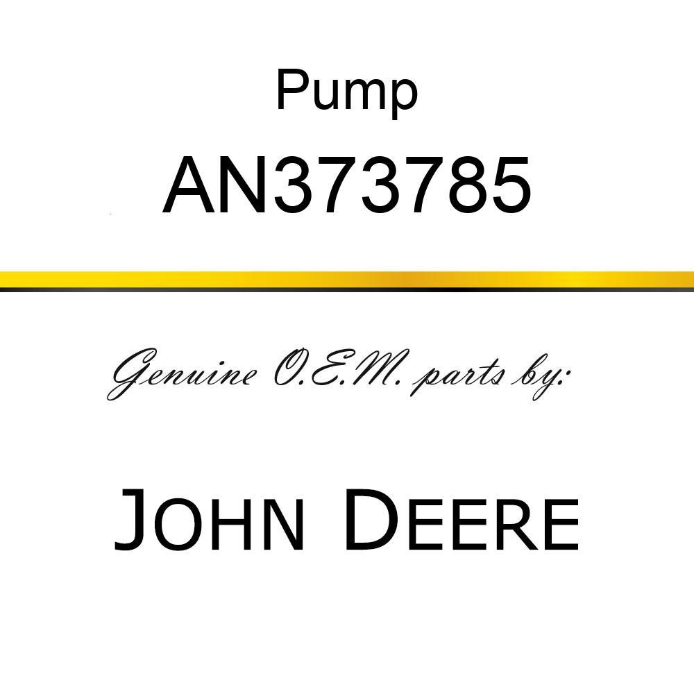 Pump - PUMP, PUMP 12 VOLT AN373785