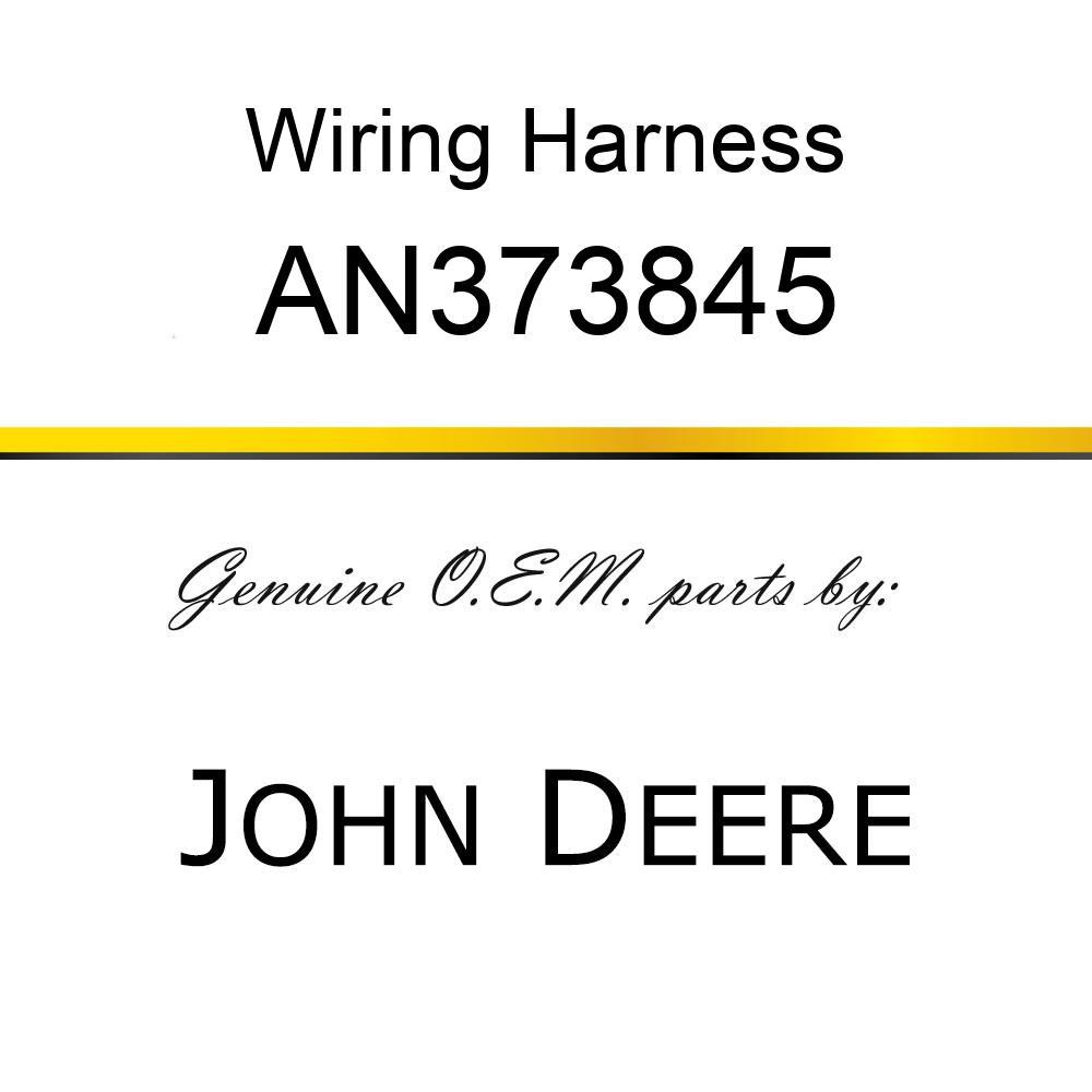Wiring Harness - WIRING HARNESS, HARNESS ASSY, AUX P AN373845