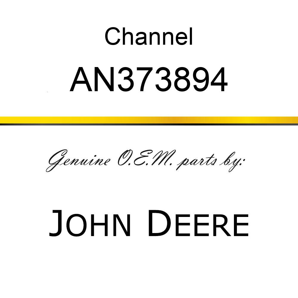 Channel - CHANNEL, SUPPORT ASSY, COMPACTOR AN373894
