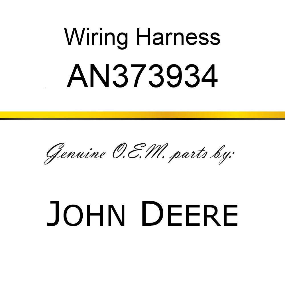Wiring Harness - HARNESS ASSY, 7760 LIGHT BAR AN373934