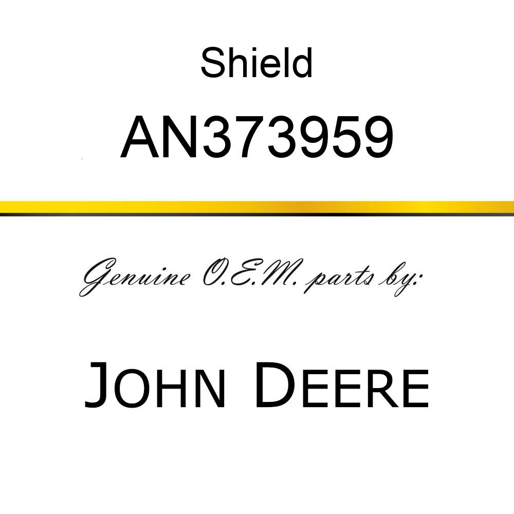 Shield - OUTER SHIELD TUBE OVL. AN373959