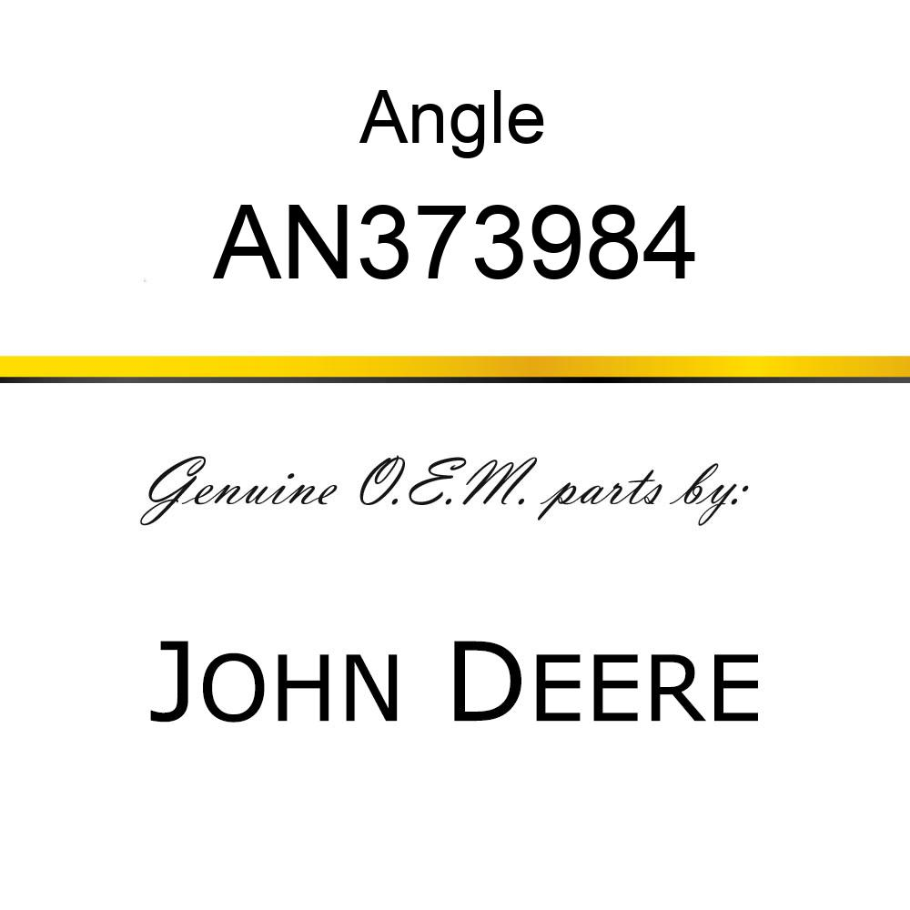 Angle - PANEL ASSY DECAL AN373984