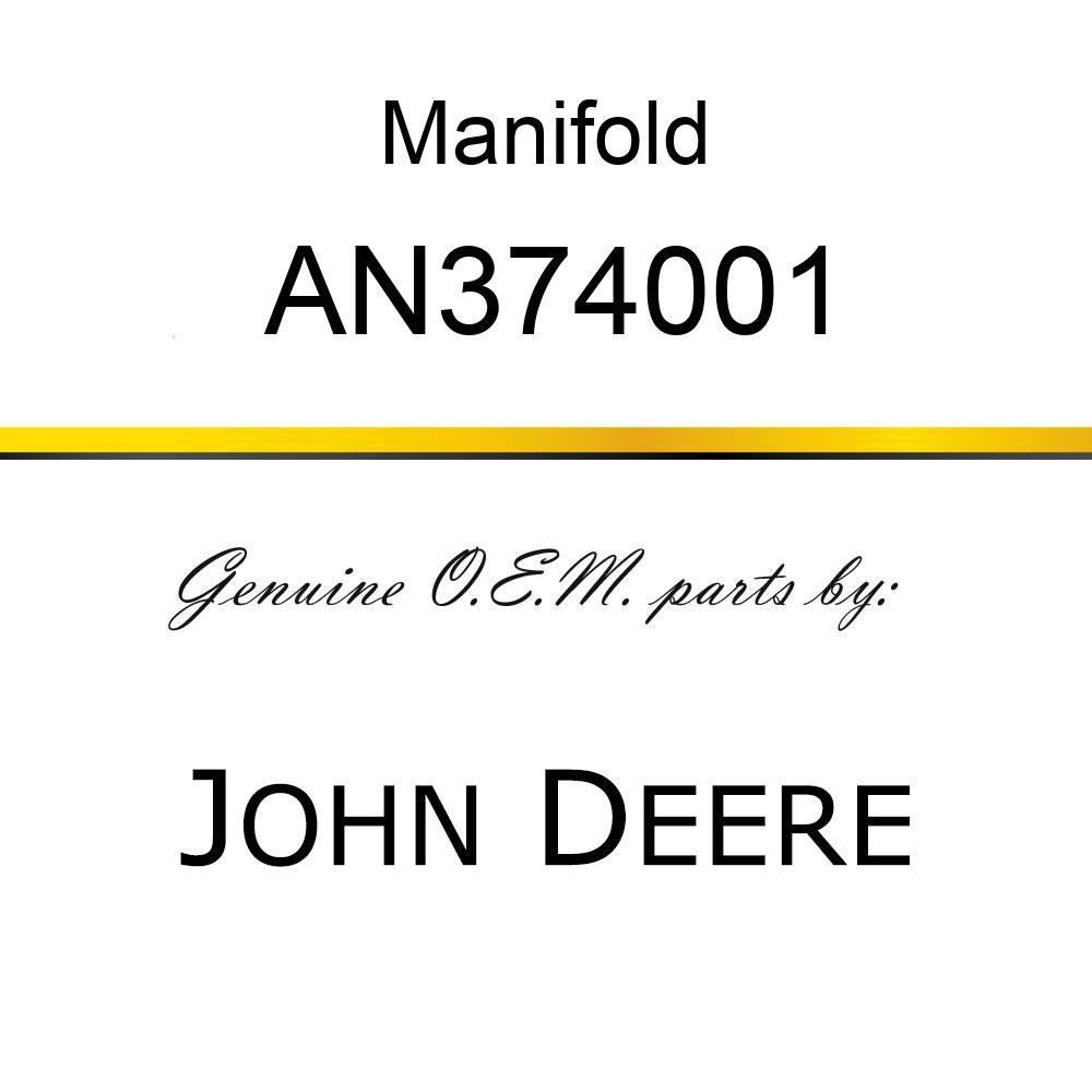 Manifold - MANIFOLD, TRASH LH AN374001