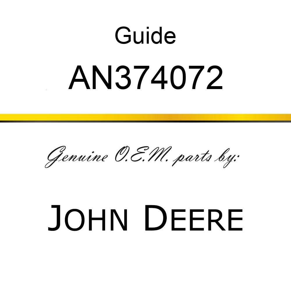Guide - GUIDE ASSY, CABLE AN374072