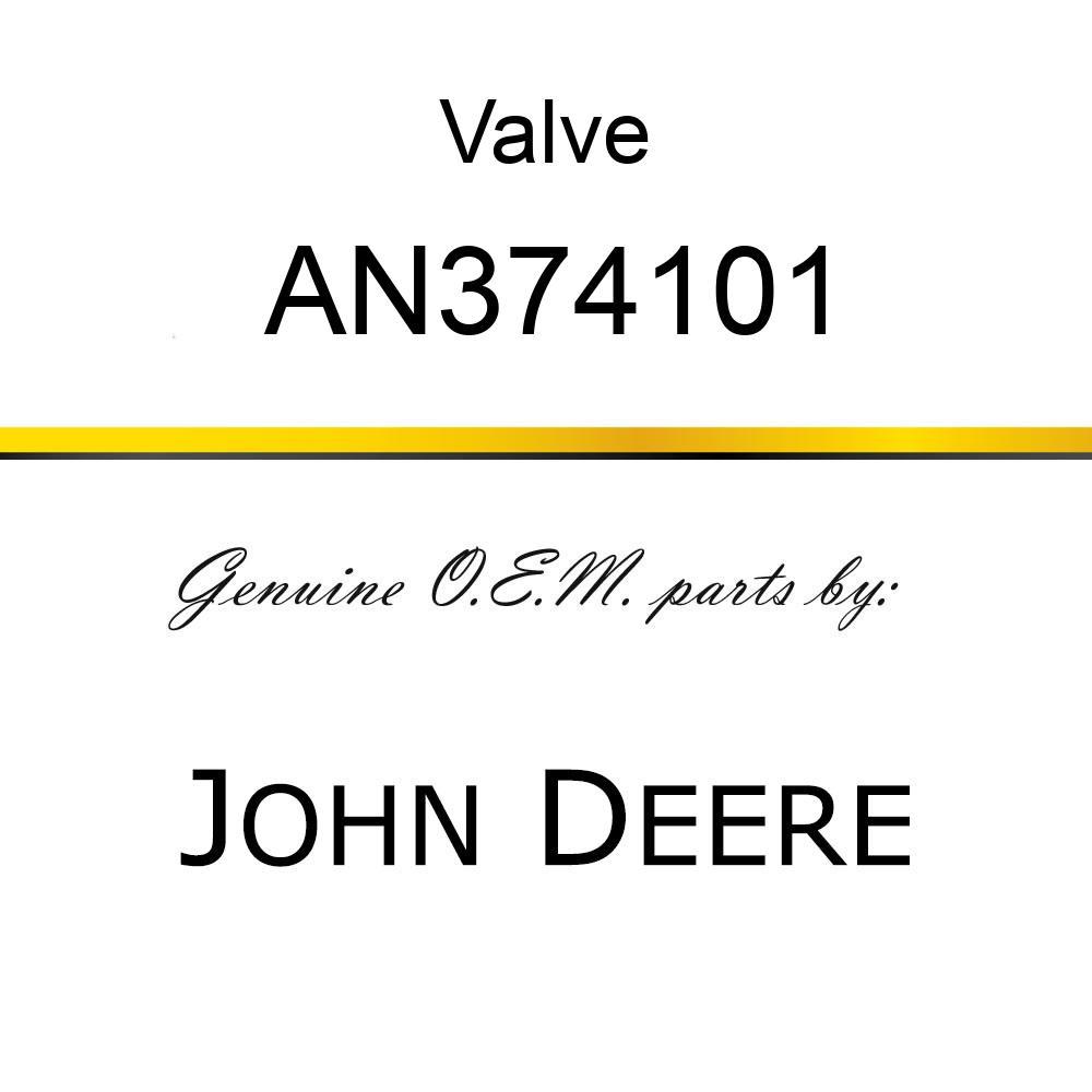 Valve - VALVE, DIR. CONT. AN374101
