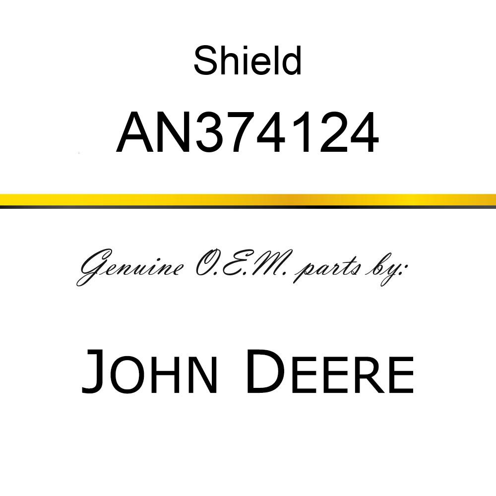 Shield - SHIELD ASSY COOLING W/DECAL  R.O. AN374124