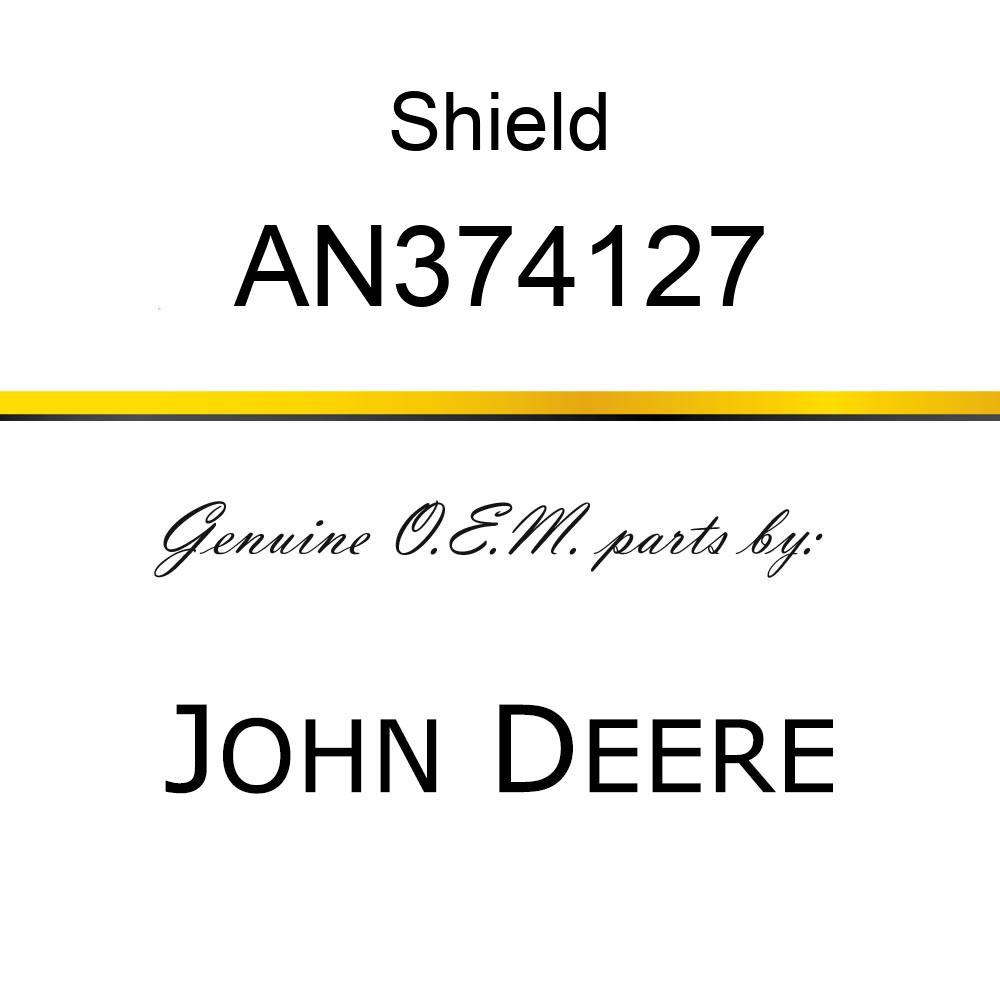 Shield - SHIELD ASSY ENGINE W/ DECAL  R.O. AN374127