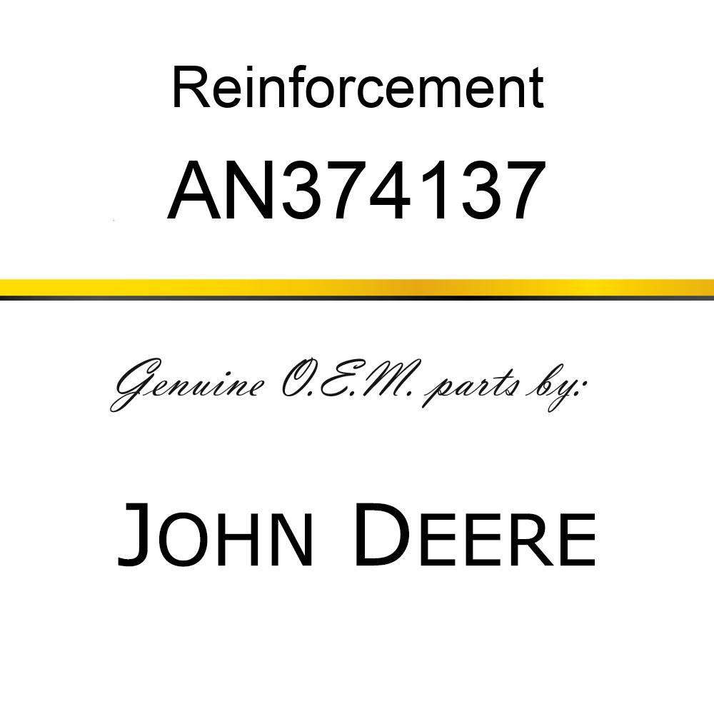 Reinforcement - REINFORCEMENT, PLATE FRONT KICK W/ AN374137