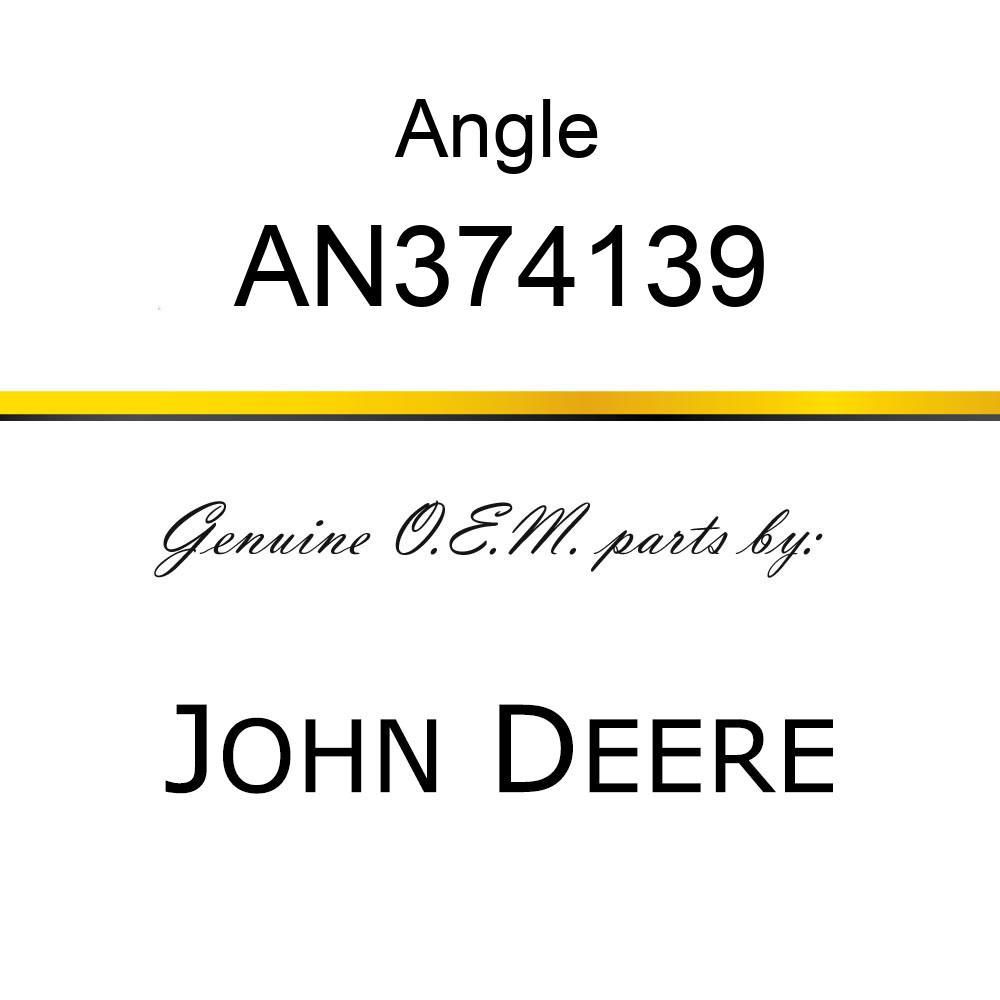Angle - ANGLE, ANGLE LH SHIELD W/ DECALS  R AN374139