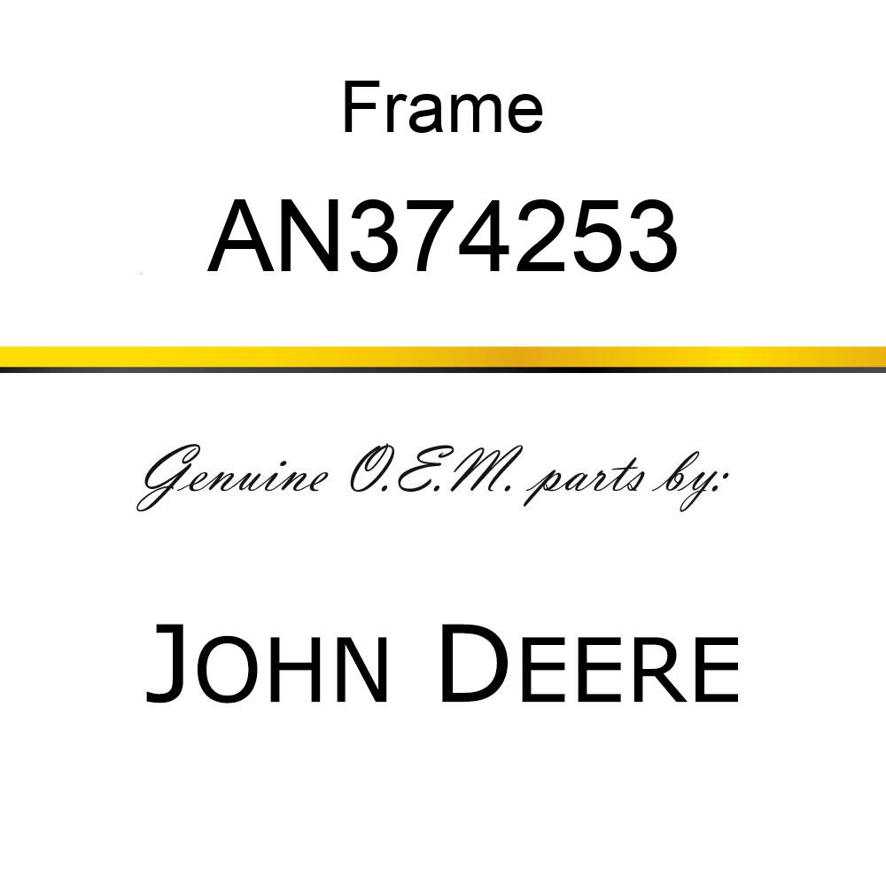 Frame - FRAME, RADIATOR ASSY AN374253