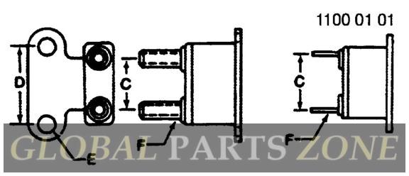 ar49352 circuit breaker  30 amp   john deere oem part electrical  breakers buy