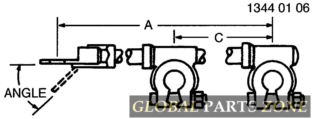 Battery Cable - CABLE ASSY, 7760 POSITIVE BATTERY AN373657