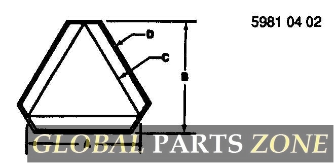 SMV Emblem - SMV EMBLEM ON STEEL WITH PREMASK AN373896